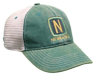 John Deere Nebraska Old Favorite Trucker - Green
