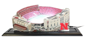Large LED Memorial Stadium