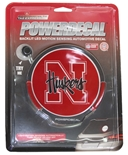 Husker Light-Up Vehicle Decal