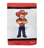NU Herbie 2 Sided Garden Flag