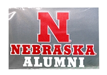 Nebraska Alumni Decal