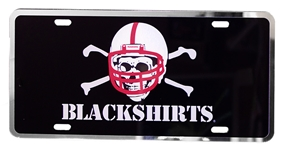 Nebraska Blackshirts License Plate