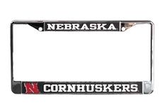 Nebraska Cornhuskers License Frame