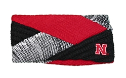 Nebraska Criss Cross Earband