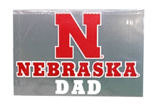 Nebraska Dad Decal
