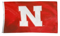 Nebraska Home Game Flag