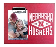 Nebraska Huskers Diamond Photo Frame