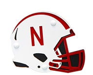 Nebraska Huskers Football Helmet Hitch Cover