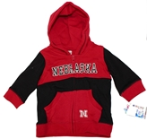 Nebraska Infant Midfield Fleece Set