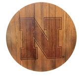Nebraska Legacy Wall Mount Barrel Sign