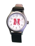 Nebraska Mens Clutch Timex
