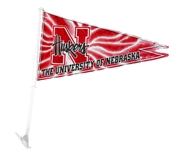 Nebraska Pennant Car Flag