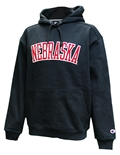 Nebraska Super Fleece Champion Hoodie