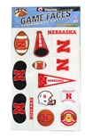 Nebraska Variety Pack Face Tattoos