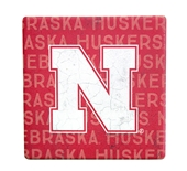 Repeating Huskers Coaster