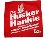 Road To The 1995 Orange Bowl Husker Hanky