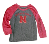 Toddlers Go Big Red Raglan