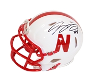 Tommy Armstrong Jr Autographed Mini Speed Helmet