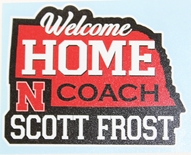 Welcome Home Frost State Decal