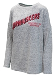 Womens Brushed Cornhuskers Crewneck