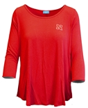 Ladies Hi Lo Nebraska Top
