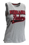 Womens Nebraska Huskers Red Carpet Tank