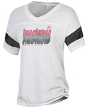 Womens Powder Puff Huskers Huskers Huskers Tee