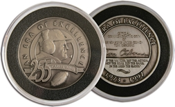 Tom Osborne Career Coin
