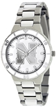 Nebraska Ladies Pearl Silver Watch