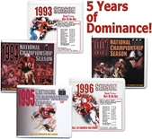 5 Years of Dominance Season Box Sets!
