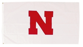 Nebraska Away Game Flag