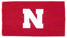 Nebraska Home Game Flag with Pole Sleeve