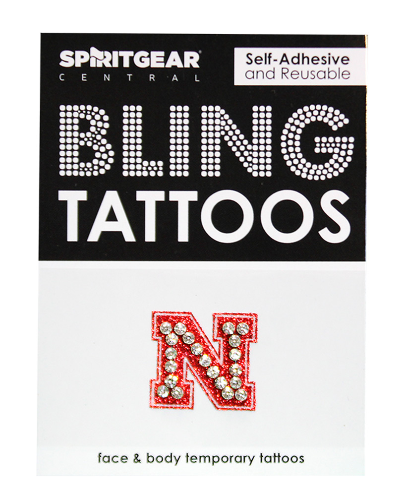 Iron N Blingy Face Sticker Tattoo