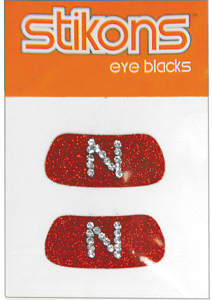 Husker N Blingy Eye Blacks