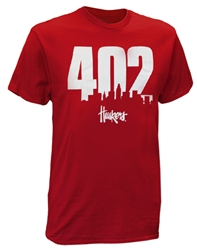 402 Huskers City Scape Tee - Red Nebraska Cornhuskers, Nebraska  Mens, Huskers  Mens, Nebraska  Short Sleeve, Huskers  Short Sleeve, Nebraska  Mens T-Shirts, Huskers  Mens T-Shirts, Nebraska 402 Huskers City Scape Tee - Red, Huskers 402 Huskers City Scape Tee - Red