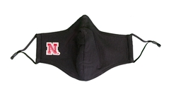 Black Nebraska N Patch Face Cover Nebraska Cornhuskers, Nebraska  Ladies, Huskers  Ladies, Nebraska  Mens, Huskers  Mens, Nebraska  Mens Accessories, Huskers  Mens Accessories, Nebraska  Ladies Accessories, Huskers  Ladies Accessories, Nebraska Nebraska Glitter Mask, Huskers Nebraska Glitter Mask