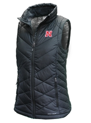 Ladies Heavenly Nebraska Columbia Vest Nebraska Cornhuskers, Nebraska  Womens, Huskers  Womens, Nebraska  Outerwear, Huskers  Outerwear, Nebraska Ladies Heavenly Nebraska Columbia Vest, Huskers Ladies Heavenly Nebraska Columbia Vest