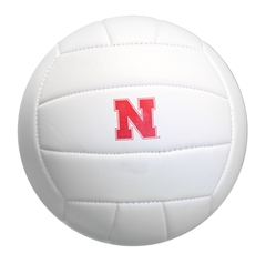 Nebraska Autograph Volleyball Nebraska cornhuskers, Nebraska cornhuskers merchandise, Nebraska cornhuskers volleyball, husker volley, nebraska volleyball, red and white husker volleyball