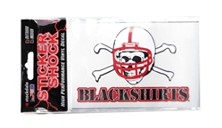Nebraska Blackshirts Vinyl Decal Nebraska Cornhuskers, Nebraska Stickers Decals & Magnets, Huskers Stickers Decals & Magnets, Nebraska Blackshirts, Huskers Blackshirts, Nebraska Blackshirts Vinyl Decal, Huskers Blackshirts Vinyl Decal