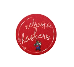 Nebraska Huskers Herbie Mini-Sticker Nebraska Cornhuskers, Nebraska Stickers Decals & Magnets, Huskers Stickers Decals & Magnets, Nebraska Nebraska Huskers Herbie Mini-Sticker SIZE, Huskers Nebraska Huskers Herbie Mini-Sticker SIZE
