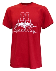 Nebraska Speed City Tee - Red Nebraska Cornhuskers, Nebraska  Mens, Huskers  Mens, Nebraska  Short Sleeve, Huskers  Short Sleeve, Nebraska  Mens T-Shirts, Huskers  Mens T-Shirts, Nebraska Nebraska Speed City Tee - Red, Huskers Nebraska Speed City Tee - Red