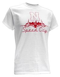Nebraska Speed City Tee - White Nebraska Cornhuskers, Nebraska  Mens, Huskers  Mens, Nebraska  Short Sleeve, Huskers  Short Sleeve, Nebraska  Mens T-Shirts, Huskers  Mens T-Shirts, Nebraska Nebraska Speed City Tee - White, Huskers Nebraska Speed City Tee - White