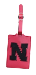 Suede Laser Engraved Nebraska Luggage Tag Nebraska Cornhuskers, Nebraska  Bags Purses & Wallets, Huskers  Bags Purses & Wallets, Nebraska Suede Laser Engraved Nebraska Luggage Tag, Huskers Suede Laser Engraved Nebraska Luggage Tag