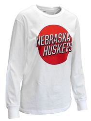 Womens Nebraska Huskers Mariana LS Top Nebraska Cornhuskers, Nebraska  Ladies T-Shirts, Huskers  Ladies T-Shirts, Nebraska  Ladies Tops, Huskers  Ladies Tops, Nebraska  Ladies, Huskers  Ladies, Nebraska  Long Sleeve, Huskers  Long Sleeve, Nebraska Womens Nebraska Huskers Mariana LS Top, Huskers Womens Nebraska Huskers Mariana LS Top