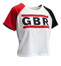 Womens White GBR Run Crop Tee Nebraska Cornhuskers, Nebraska  Ladies Tops, Huskers  Ladies Tops, Nebraska  Short Sleeve, Huskers  Short Sleeve, Nebraska  Ladies T-Shirts, Huskers  Ladies T-Shirts, Nebraska  Ladies, Huskers  Ladies, Nebraska Womens White GBR Run Crop Tee, Huskers Womens White GBR Run Crop Tee