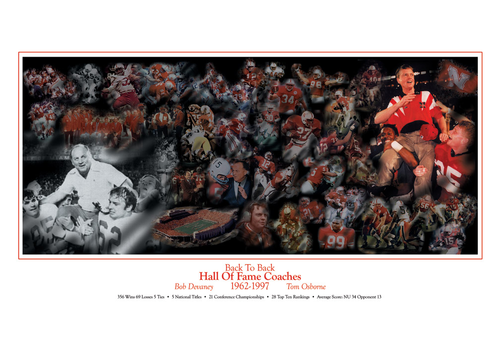 Hall of Fame Coaches Print