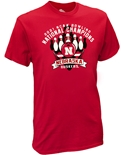 2021 Huskers Bowling National Champs Tee