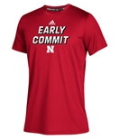 Adidas 2020 Youth Huskers Early Commit Tee