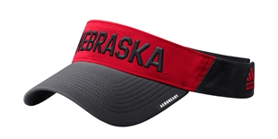 Adidas 2020 Black N Red Sideline Visor