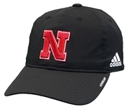 Adidas Huskers 2020 Coaches Slouch Adj Hat - Black